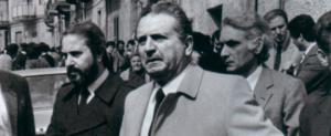 Rocco Chinnici e Giovanni Falcone