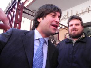 Fabrizio ed io appena susuti ru lietto