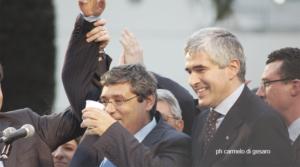 Totò Cuffaro e Pierferdinando Casini